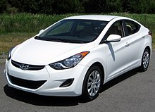 The hyundai elantra was crowned north american car of the year at the