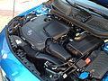 2012 Blue Mercedes A-Class W176 (7661436206).jpg