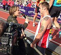 2013 Great North CityGames Pole Vault - Luke Cutts and Kath Merry cropped.jpg