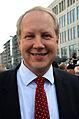 2013 kurz vor der Oberbürgermeister-Wahl in Hannover, Stefan Schostok von der Sozialdemokratischen Partei Deutschlands (SPD) am Kröpcke.jpg