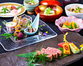 2014-06-03 Course of Beef steaks-,head office of Kissho.JPG