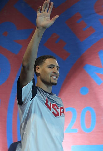 Splash Brothers - Thompson emerged as a star in the 2014 World Cup.