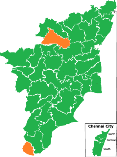 2014 Indian general election in Tamil Nadu