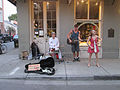 2015 Dirty Linen Night Royal St BuskerBand2.jpg