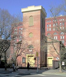Church of St. Luke in the Fields church building in Manhattan, United States of America