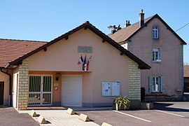 The town hall in La Neuvelle-lès-Lure