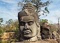 2016 Angkor, Angkor Thom, Brama południowa (16).jpg