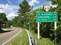 2017-06-12 17 09 10 View north along Virginia State Route 65 (2nd Avenue) at U.S. Route 23, U.S. Route 58 and U.S. Route 421 (Orby Cantrell Highway) in Clinchport, Scott County, Virginia.jpg