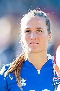 Fanndís Friðriksdóttir Icelandic footballer