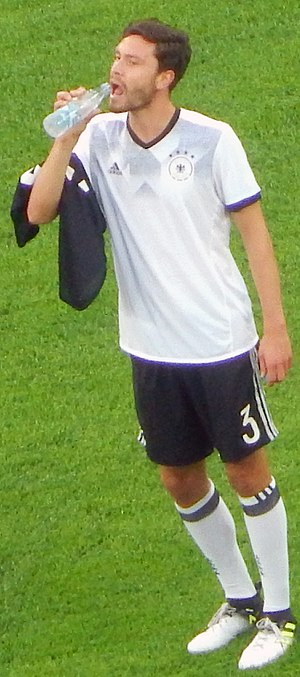 Jonas Hector - Hector with Germany in 2017