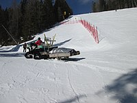 2018-03-04 (111) Bombardier CanAm Snowmobile at Mountain rescue Bergrettung Mitterbach at Gemeindealpe in Mitterbach am Erlaufsee in emergency response.jpg