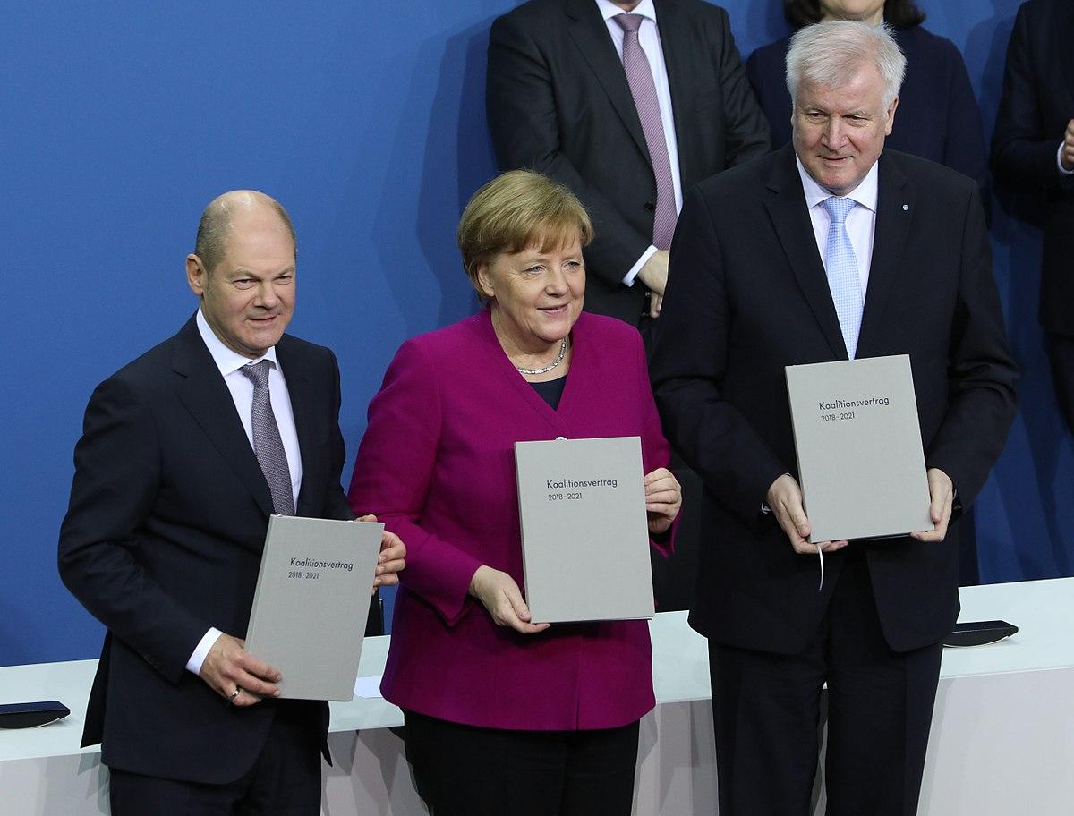 Bildergebnis für koalitionsvertrag 2018