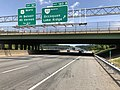 2019-05-29 14 14 00 View north along Interstate 95 at Exit 160B (Virginia State Route 123 NORTH, Occoquan, Lake Ridge) in Woodbridge, Prince William County, Virginia.jpg