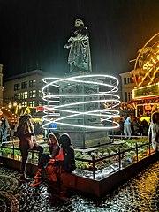 Der Bürger; Lichtskulpturen Beethoven 2020 (Bonn)