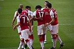 21 Merci Arsène - Celebrating Iwobi's goal (41236832804).jpg