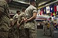 22nd MEU promotes, re-enlists Marines aboard the USS Wasp 150501-M-HZ646-083.jpg