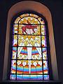 230313 Stained-glass windows in Saint Louis church in Joniec - 02.jpg
