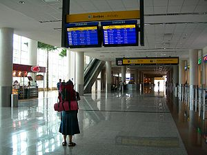 José Joaquín de Olmedo International Airport - Arrivals area