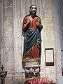 295 Catedral de San Salvador (Oviedo), talla romànica del Salvador, al transsepte sud.jpg