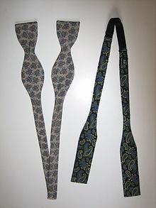 Esempi di cravatta a farfalla con foggia a