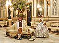 302 Els fallers majors infantils al Palau del Marqués de Dosaigües (València).jpg