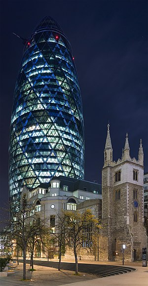 2004 in architecture - 30 St Mary Axe