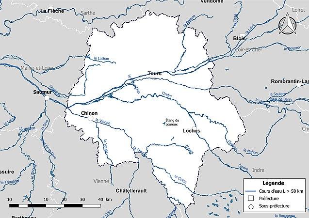 Réseau Hydrographique Dindre Et Loire Wikipédia