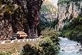 393 - MAZ-200 timber truck in the Abkhazian gorge Gega.jpg