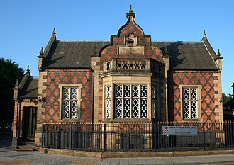 Jacobethan - The former bank at 39 Welsh Row, Nantwich is another