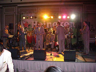 La Sonora Ponceña Puerto Rican salsa band, founded in 1954