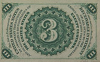 Obsolete denominations of United States currency - Image: 3cb big