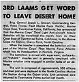 3rd LAAM - 19630102 - Leaving Desert Home - MCB 29 Palms Observation Post.jpg