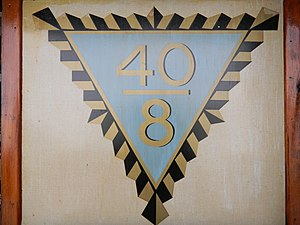 Forty and Eight veterans organization - Image: 40 & 8 emblem