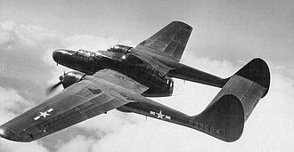 415th Special Operations Squadron - 415th Night Fighter Squadron Northrop P-61 Black Widow