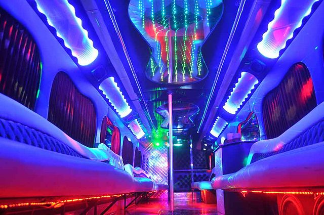 Limo Party Bus For Kids