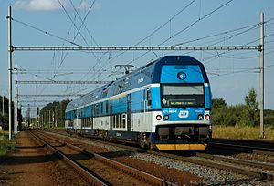 České dráhy - ČD Class 471 regional train