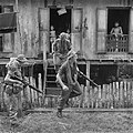 4 RAR soldiers operating in a Malaysian village during the Indonesian Confrontation.jpg