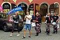 5.9.15 Drummers inm Cesky Krumlov 01 (21189109316).jpg