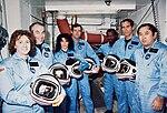 51-L Challenger Crew in White Room - GPN-2000-001867.jpg
