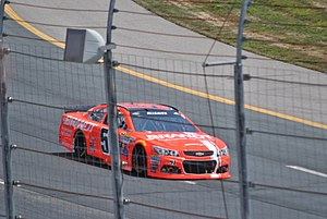 Justin Allgaier - Allgaier racing at New Hampshire Motor Speedway in 2015