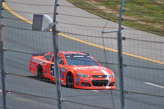 Justin Allgaier - Allgaier racing at New Hampshire Motor Speedway in 2015