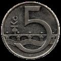 5 Korun revers.png