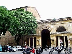 Agostino Fantastici - Chiesa di S. Agostino and Collegio Tolomei (right side)