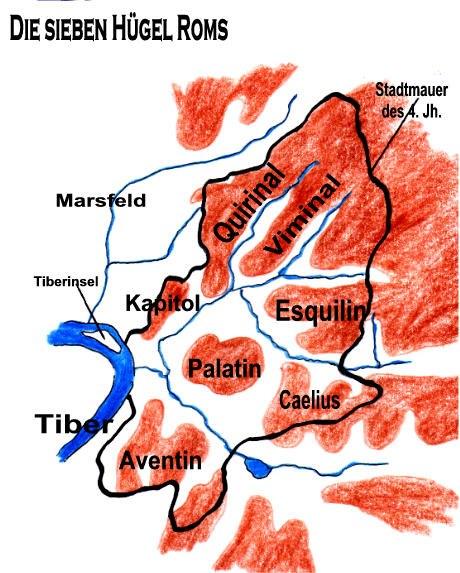 7 Hügel Roms