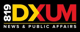 DXUM Radio station in Davao City, Philippines