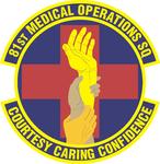 81 Medical Operations Sq emblem.png