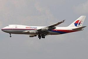 MASkargo - MASkargo Boeing 747-400F, registration 9M-MPS, in previous livery