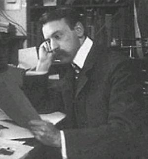 Arthur Eichengrün - Arthur Eichengrün at Bayer (ca. 1900)