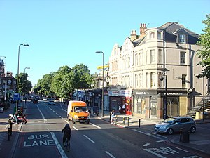 Brixton Hill - Brixton Hill, photographed in 2009