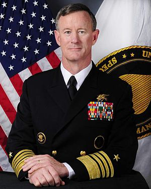 William H. McRaven - Image: ADM William H. Mc Raven 2012